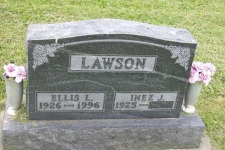 LAWSON, ELLIS L. - Hancock County, Illinois | ELLIS L. LAWSON - Illinois Gravestone Photos