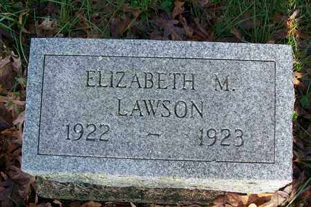 LAWSON, ELIZABETH MARY - Hancock County, Illinois   ELIZABETH MARY LAWSON - Illinois Gravestone Photos