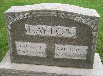 LAYTON, ANTHONY P. - Hancock County, Illinois | ANTHONY P. LAYTON - Illinois Gravestone Photos