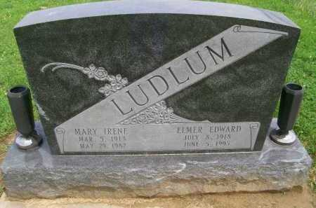 LUDLUM, ELMER EDWARD - Hancock County, Illinois | ELMER EDWARD LUDLUM - Illinois Gravestone Photos