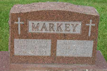 MARKEY, ALMA MARY - Hancock County, Illinois | ALMA MARY MARKEY - Illinois Gravestone Photos