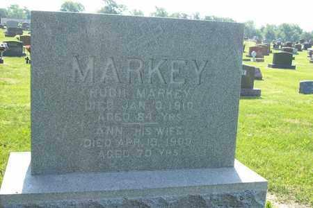 MARKEY, ANN MARGARET - Hancock County, Illinois | ANN MARGARET MARKEY - Illinois Gravestone Photos