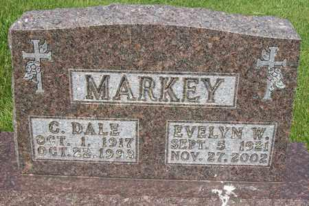 MARKEY, CLETUS DALE - Hancock County, Illinois | CLETUS DALE MARKEY - Illinois Gravestone Photos