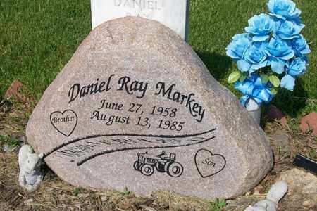 MARKEY, DANIEL RAY - Hancock County, Illinois | DANIEL RAY MARKEY - Illinois Gravestone Photos
