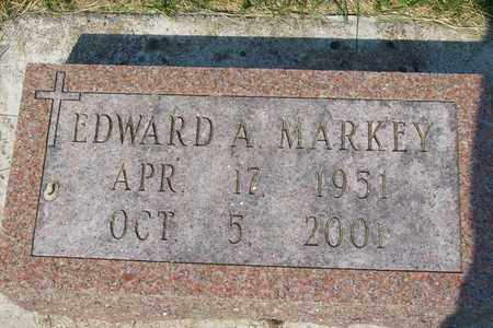 MARKEY, EDWARD A - Hancock County, Illinois | EDWARD A MARKEY - Illinois Gravestone Photos