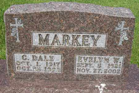 MARKEY, EVELYN W - Hancock County, Illinois | EVELYN W MARKEY - Illinois Gravestone Photos