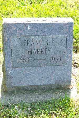 MARKEY, FRANCIS PHILP - Hancock County, Illinois   FRANCIS PHILP MARKEY - Illinois Gravestone Photos