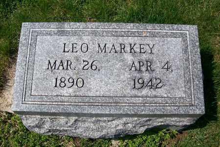 MARKEY, GEORGE LEO - Hancock County, Illinois | GEORGE LEO MARKEY - Illinois Gravestone Photos
