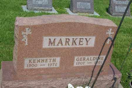 MARKEY, GERALDINE - Hancock County, Illinois | GERALDINE MARKEY - Illinois Gravestone Photos