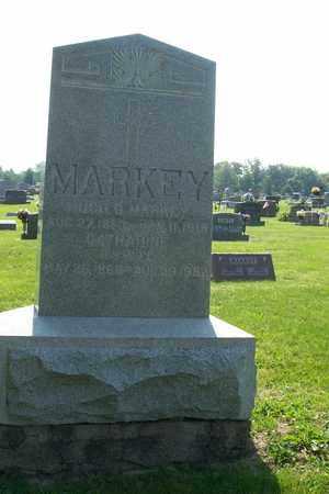 MARKEY, HUGH D. - Hancock County, Illinois | HUGH D. MARKEY - Illinois Gravestone Photos