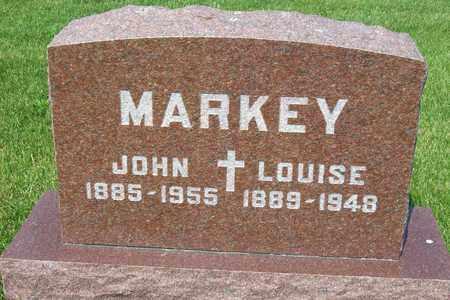 MARKEY, LOUISE - Hancock County, Illinois | LOUISE MARKEY - Illinois Gravestone Photos