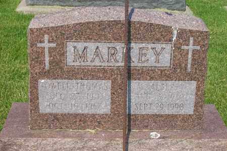 MARKEY, LOWELL THOMAS - Hancock County, Illinois | LOWELL THOMAS MARKEY - Illinois Gravestone Photos