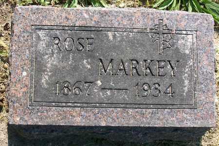 """MARKEY, ROSANNA  'ROSE"""" - Hancock County, Illinois   ROSANNA  'ROSE"""" MARKEY - Illinois Gravestone Photos"""