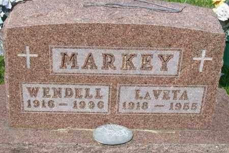 MARKEY, WILLIAM WENDELL - Hancock County, Illinois | WILLIAM WENDELL MARKEY - Illinois Gravestone Photos