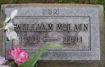 MCLAIN, WILLIAM - Hancock County, Illinois | WILLIAM MCLAIN - Illinois Gravestone Photos