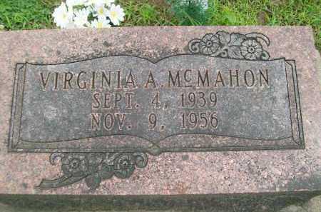 MCMAHON, VIRGINIA A. - Hancock County, Illinois   VIRGINIA A. MCMAHON - Illinois Gravestone Photos