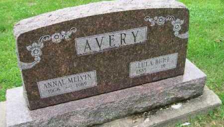 AVERY BUHL, LULU - Hancock County, Illinois   LULU AVERY BUHL - Illinois Gravestone Photos