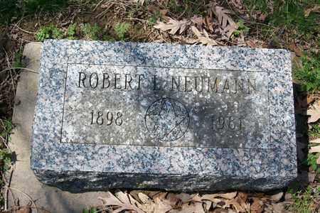 NEUMANN, ROBERT LEONARD - Hancock County, Illinois | ROBERT LEONARD NEUMANN - Illinois Gravestone Photos