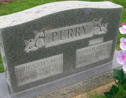 PERRY, BESSIE M. - Hancock County, Illinois | BESSIE M. PERRY - Illinois Gravestone Photos