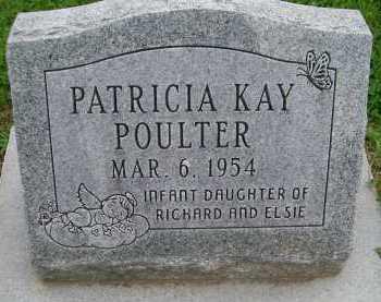 POULTER, PATRICIA KAY - Hancock County, Illinois   PATRICIA KAY POULTER - Illinois Gravestone Photos