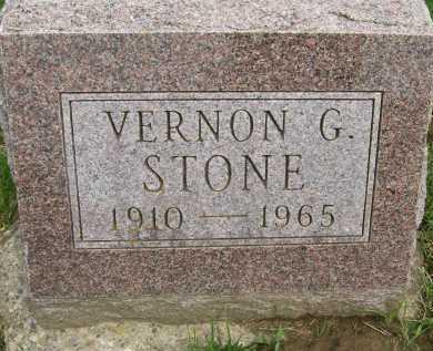 STONE, VERNON G. - Hancock County, Illinois   VERNON G. STONE - Illinois Gravestone Photos