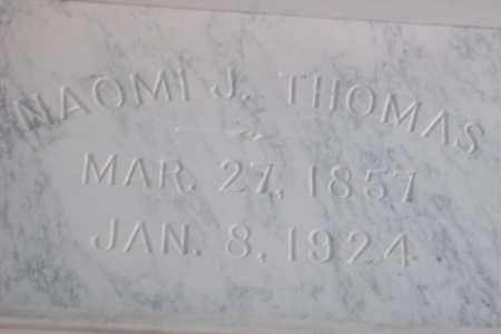 THOMAS, NAOMI JANE - Hancock County, Illinois | NAOMI JANE THOMAS - Illinois Gravestone Photos