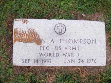 THOMPSON, GLENN A - Hancock County, Illinois | GLENN A THOMPSON - Illinois Gravestone Photos