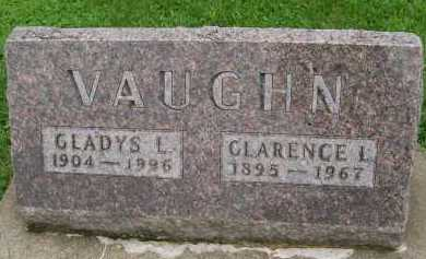 VAUGHN, CLARENCE L. - Hancock County, Illinois | CLARENCE L. VAUGHN - Illinois Gravestone Photos