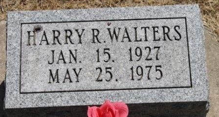 WALTERS, HARRY R. - Hancock County, Illinois | HARRY R. WALTERS - Illinois Gravestone Photos