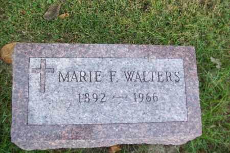 WALTERS, MARIE F. - Hancock County, Illinois | MARIE F. WALTERS - Illinois Gravestone Photos