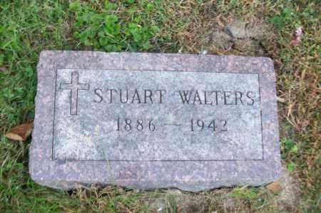 WALTERS, STUART - Hancock County, Illinois | STUART WALTERS - Illinois Gravestone Photos