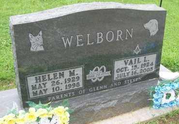 WELBORN, HELEN M. - Hancock County, Illinois   HELEN M. WELBORN - Illinois Gravestone Photos