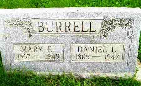 BURRELL, DANIEL LINCOLN - Henderson County, Illinois | DANIEL LINCOLN BURRELL - Illinois Gravestone Photos