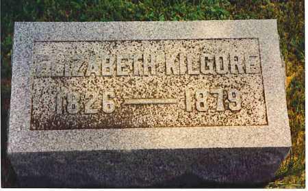 ALEXANDER KILGORE, ELIZABETH DELIA - Henderson County, Illinois | ELIZABETH DELIA ALEXANDER KILGORE - Illinois Gravestone Photos