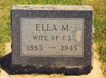 KILGORE, ELLA M. - Henderson County, Illinois | ELLA M. KILGORE - Illinois Gravestone Photos