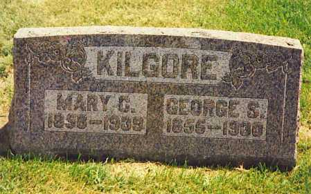 KILGORE, GEORGE SMITH - Henderson County, Illinois | GEORGE SMITH KILGORE - Illinois Gravestone Photos