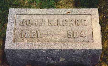 KILGORE, JOHN - Henderson County, Illinois | JOHN KILGORE - Illinois Gravestone Photos