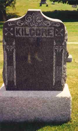 KILGORE, MONUMENT STONE - Henderson County, Illinois   MONUMENT STONE KILGORE - Illinois Gravestone Photos