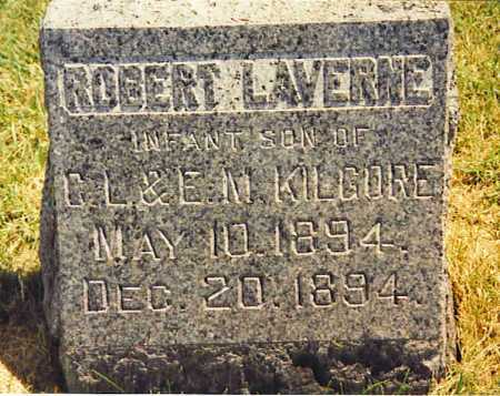 KILGORE, ROBERT LAVERNE - Henderson County, Illinois | ROBERT LAVERNE KILGORE - Illinois Gravestone Photos