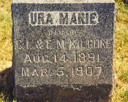 KILGORE, URA MARIE - Henderson County, Illinois | URA MARIE KILGORE - Illinois Gravestone Photos