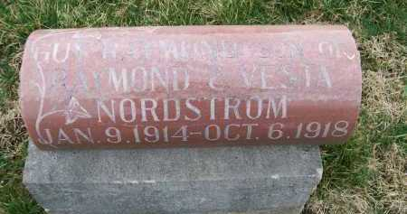 NORDSTROM, GUY RAYMOND - Henderson County, Illinois | GUY RAYMOND NORDSTROM - Illinois Gravestone Photos