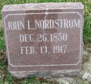 NORDSTROM, JOHN L. - Henderson County, Illinois | JOHN L. NORDSTROM - Illinois Gravestone Photos