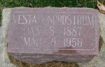 NORDSTROM, VESTA A. - Henderson County, Illinois | VESTA A. NORDSTROM - Illinois Gravestone Photos
