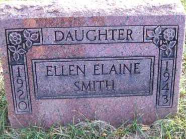 SMITH, ELLEN ELAINE - Henderson County, Illinois | ELLEN ELAINE SMITH - Illinois Gravestone Photos
