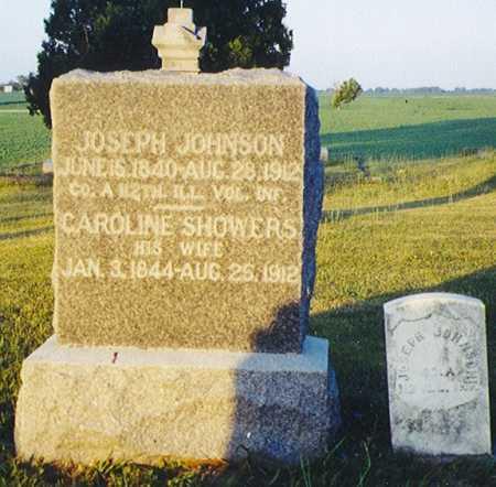 JOHNSON, CAROLINE - Henry County, Illinois   CAROLINE JOHNSON - Illinois Gravestone Photos