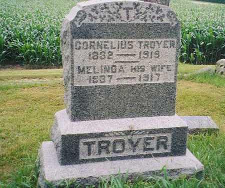 TROYER, CORNELIUS - Henry County, Illinois | CORNELIUS TROYER - Illinois Gravestone Photos