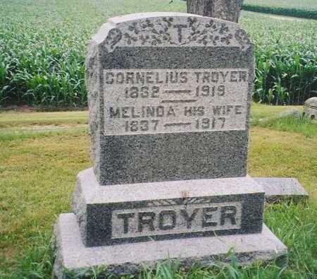 TROYER, MELINDA - Henry County, Illinois | MELINDA TROYER - Illinois Gravestone Photos