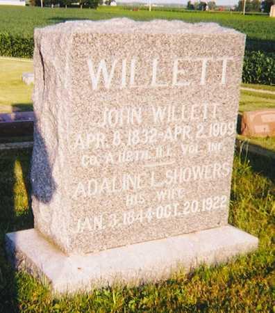 SHOWERS WILLETT, ADALINE L. - Henry County, Illinois   ADALINE L. SHOWERS WILLETT - Illinois Gravestone Photos