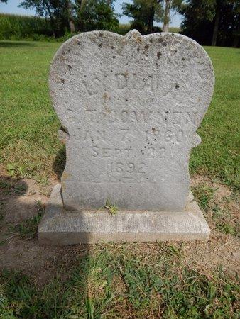 DOWNEN, LYDIA A - Jefferson County, Illinois   LYDIA A DOWNEN - Illinois Gravestone Photos
