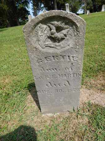 MARTIN, GERTIE - Jefferson County, Illinois | GERTIE MARTIN - Illinois Gravestone Photos